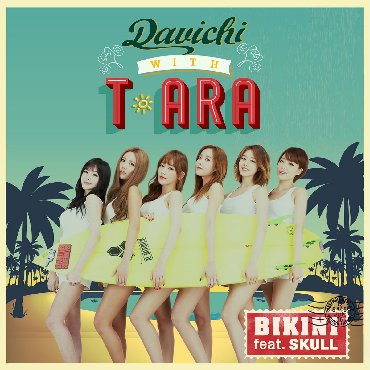 (Single) T-ara with Davichi - Bikini (MP3)