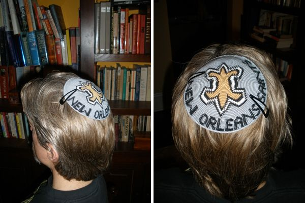 New Orleans Saints Yarmulke