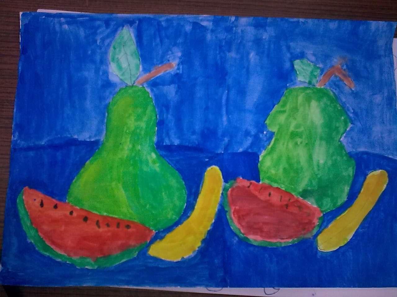 Güzel Sanatlar: Meyve ile Natürmort