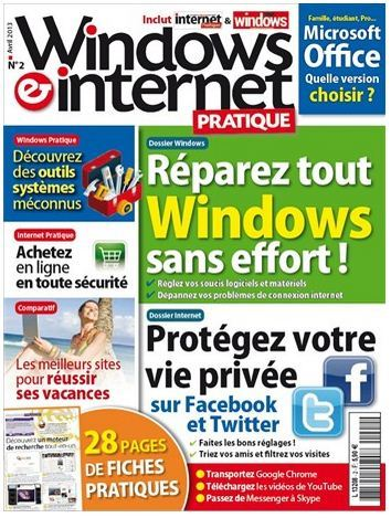 Windows & Internet Pratique N°2 Avril 2013