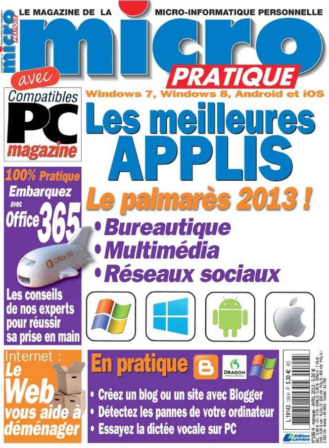 Micro Pratique N°199 Avril 2013