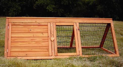 How to build a rabbit hutch run cage instructions for How to make a rabbit hutch from scratch