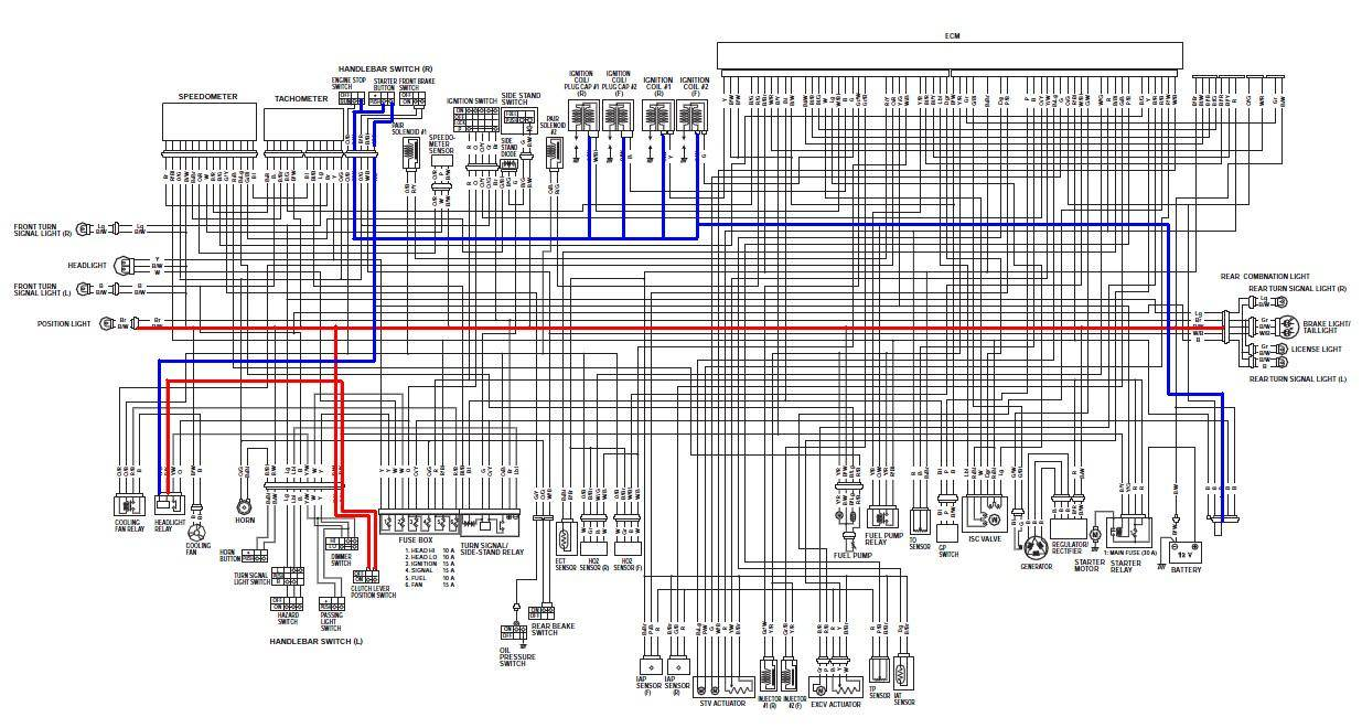 M109r Wiring Diagram Will Be A Thing 2007 Suzuki M50 Diagrams Swift 1998 Alternator 2006