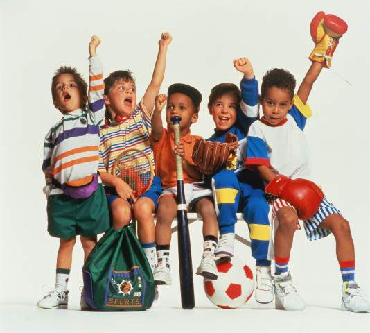 Детский спорт в России