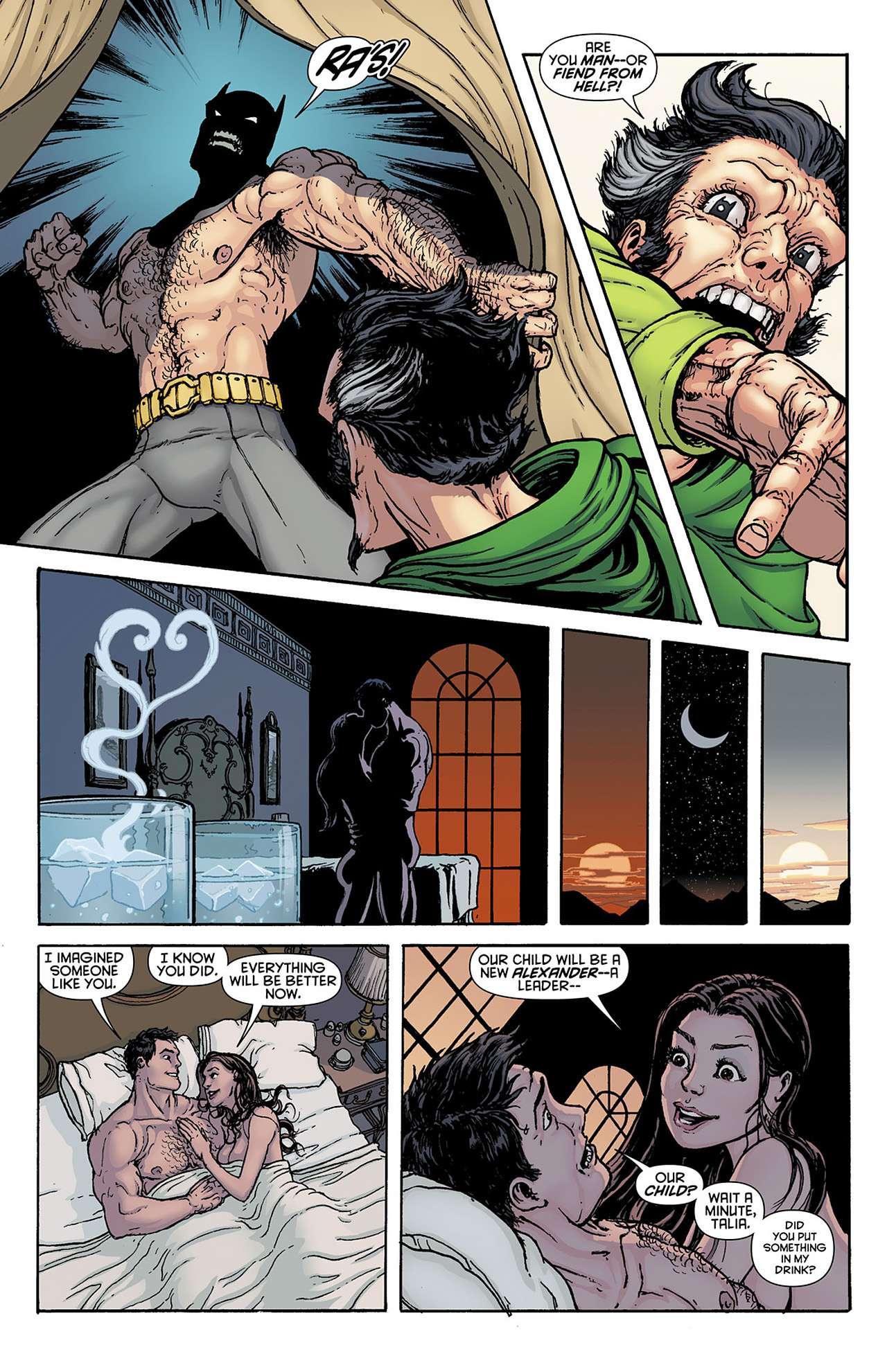 Бэтмен секс с талией